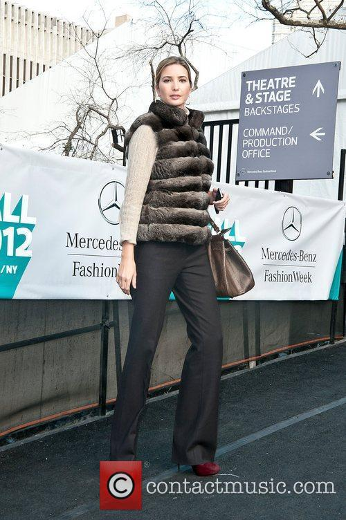 Ivanka Trump Mercedes-Benz Fashion Week - Fall 2012...
