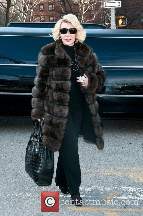 Joan Rivers Mercedes-Benz Fashion Week - Fall 2012...