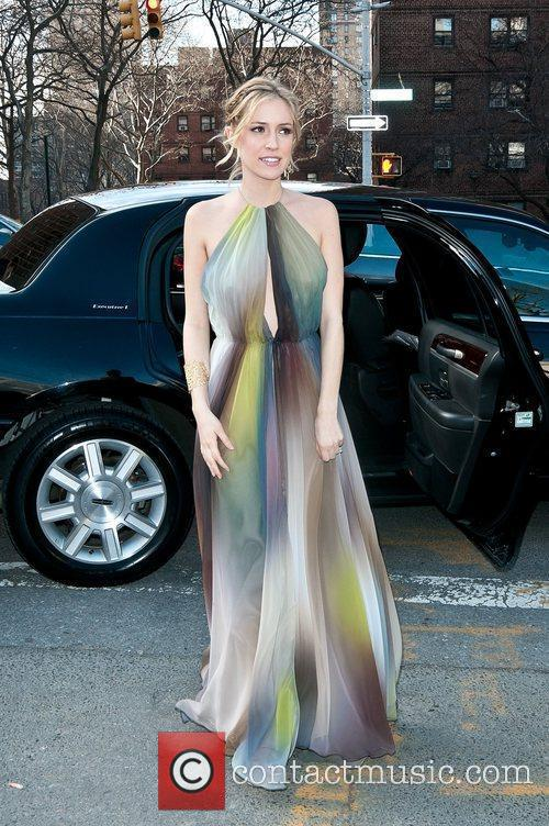 Kristin Cavallari Mercedes-Benz Fashion Week - Fall 2012...