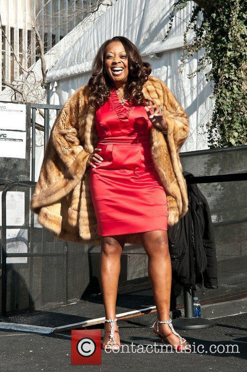 Star Jones Mercedes-Benz Fashion Week - Fall 2012...