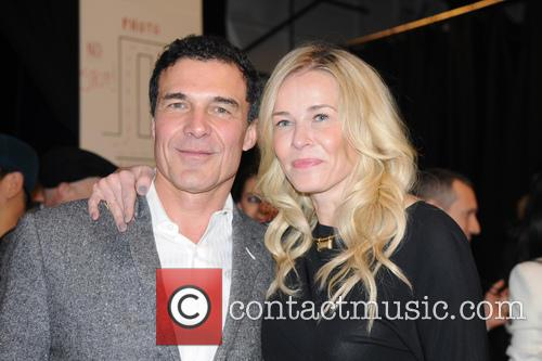 Andre Balazs; Chelsea Handler Mercedes-Benz New York Fashion...