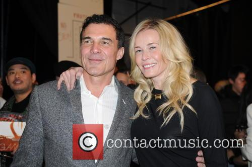 Andre Balazs, Chelsea Handler, New York Fashion Week