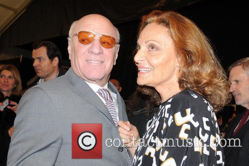 Barry Diller; Diane Von Furstenberg Mercedes-Benz New York...
