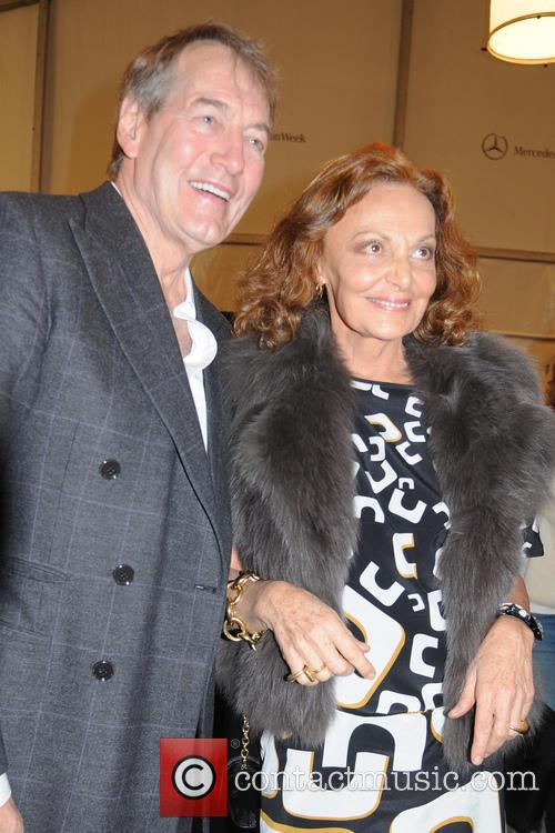 Charlie Rose; Diane Von Furstenberg Mercedes-Benz New York...