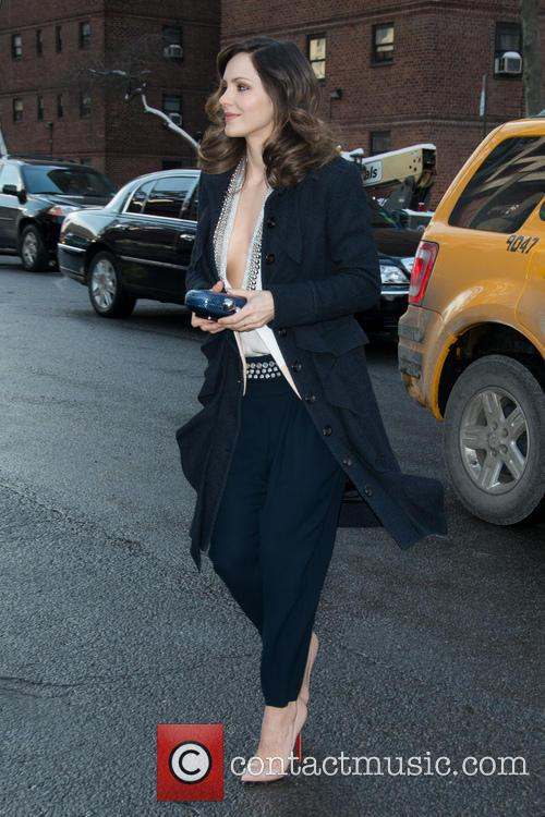 Katharine McPhee and New York Fashion Week 2
