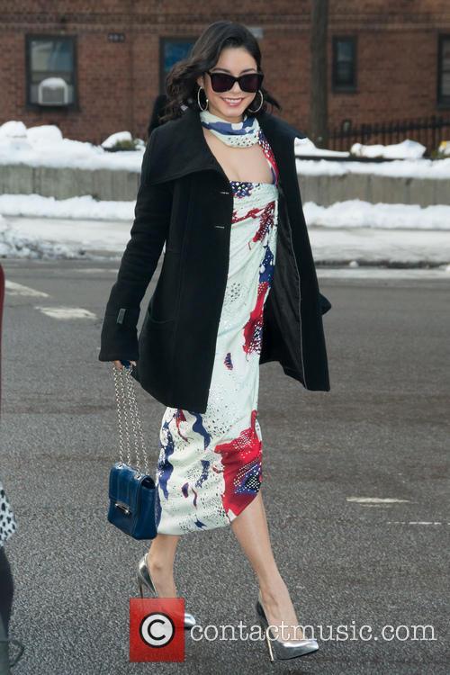 Vanessa Hudgens and New York Fashion Week 6