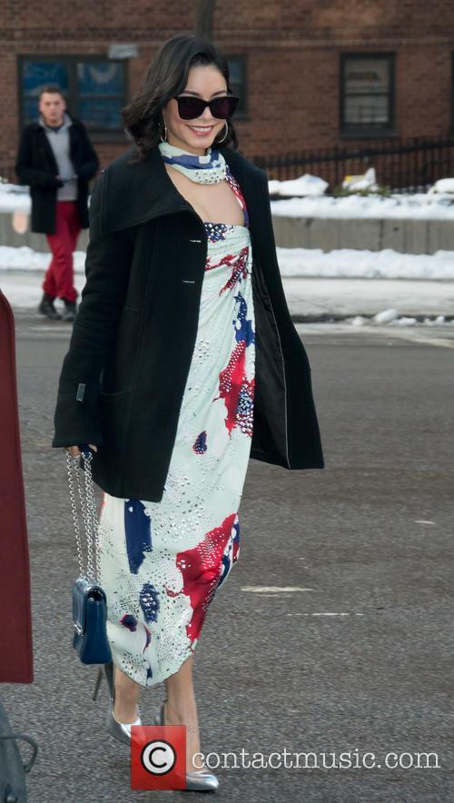 Vanessa Hudgens and New York Fashion Week 2