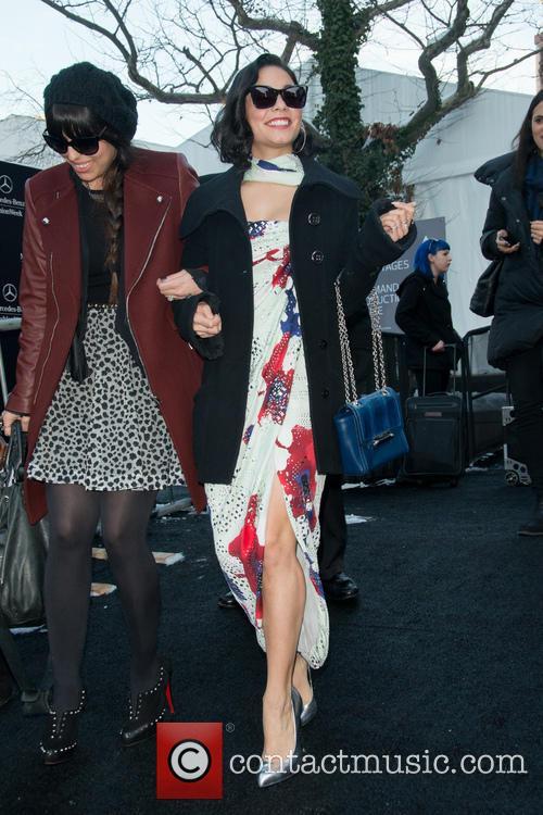 Vanessa Hudgens and New York Fashion Week 7