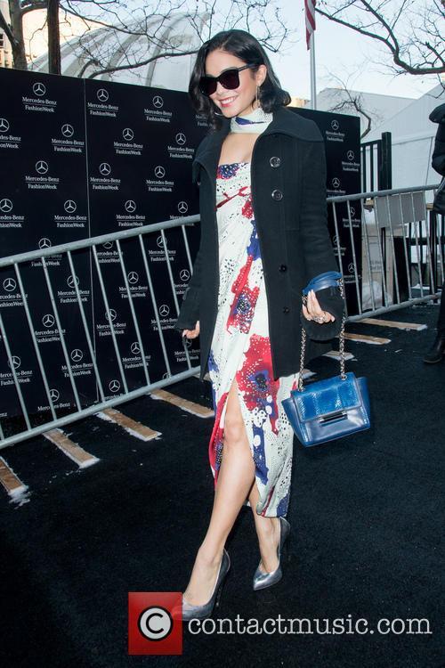 Vanessa Hudgens and New York Fashion Week 5