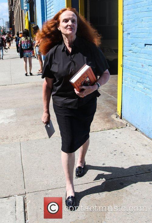 Grace Coddington Mercedes-Benz New York Fashion Week Spring/Summer...