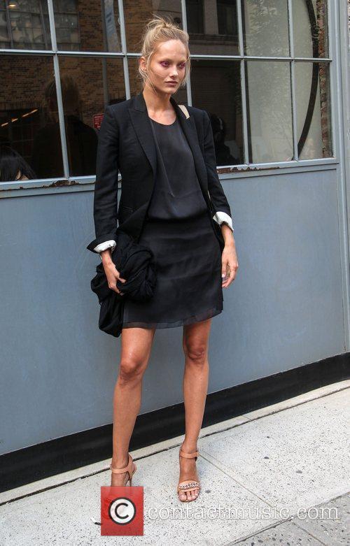 Karmen Pedaru Mercedes-Benz New York Fashion Week Spring/Summer...