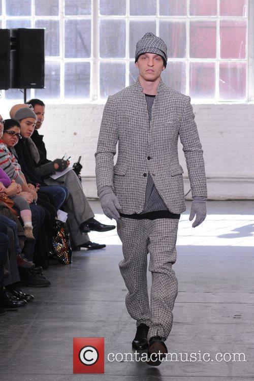 Mercedes-Benz Fashion Week Fall 2012 - Duckie Brown...