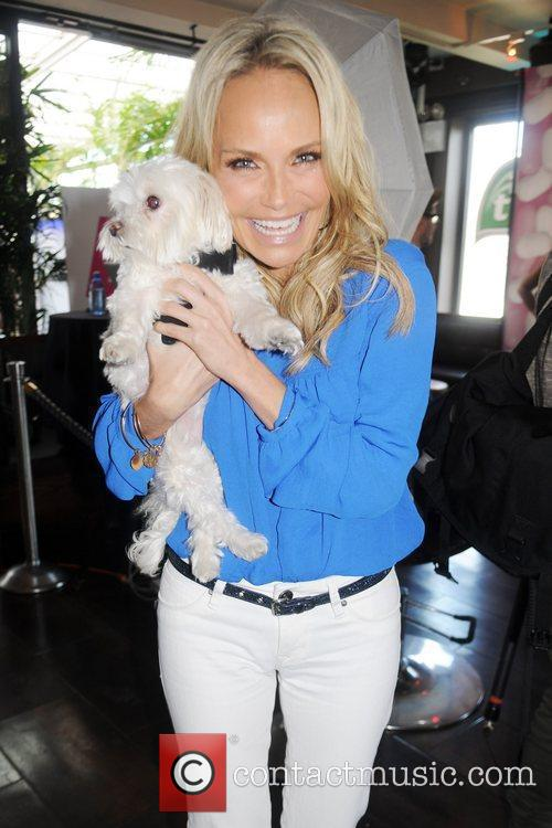 Kristin Chenoweth and her dog Maddy Mercedes-Benz New...