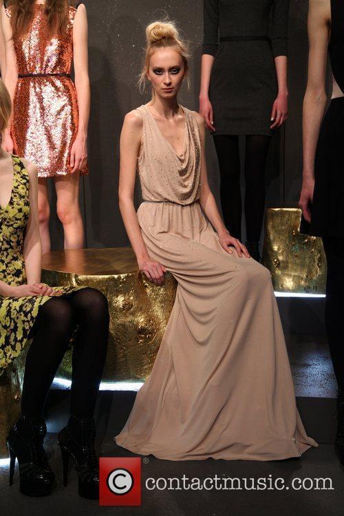 Models Mercedes-Benz Fashion Week Fall 201 - Erin...