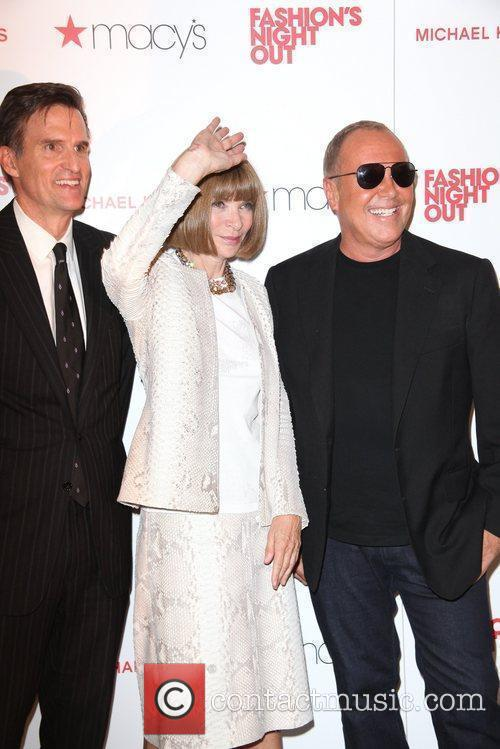 Anna Wintour, Michael Kors and Macy's 3