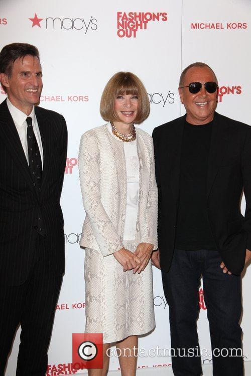 Anna Wintour, Michael Kors and Macy's 4