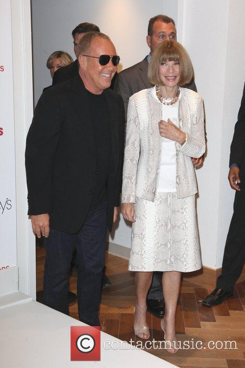 Anna Wintour, Michael Kors and Macy's 5