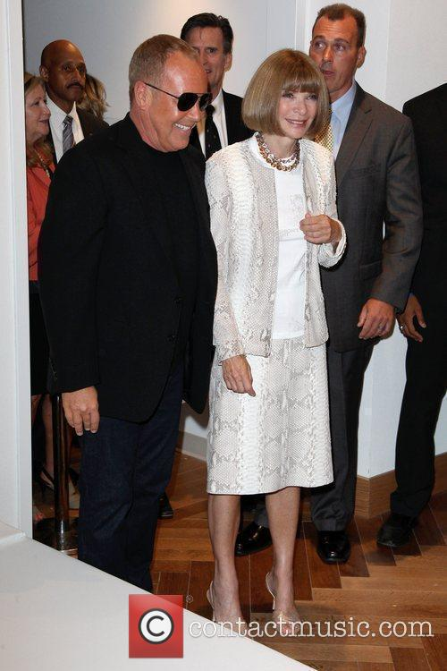 Anna Wintour, Michael Kors and Macy's 6