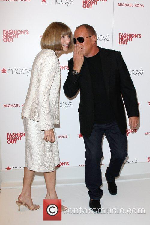 Anna Wintour, Michael Kors and Macy's 8
