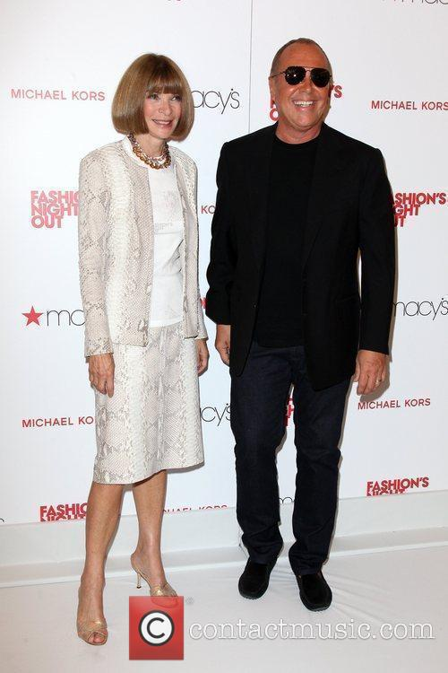 Anna Wintour, Michael Kors and Macy's 1