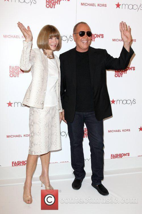 Anna Wintour, Michael Kors and Macy's 9