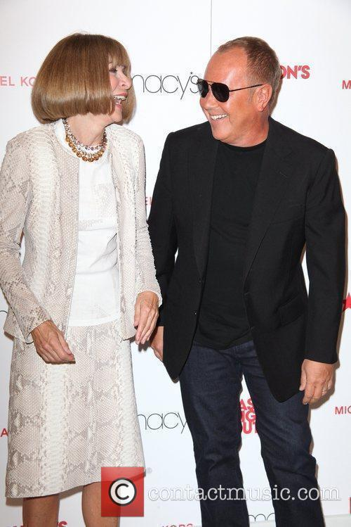 Anna Wintour, Michael Kors and Macy's 10