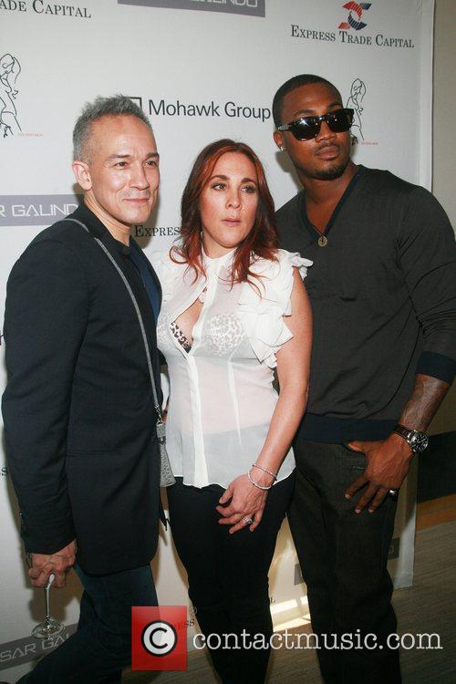 Cesar Galindo, Christine Dente and Shape Mercedes-Benz New...