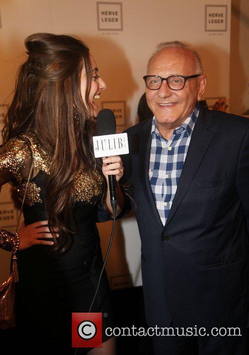 Designer Max Azria Mercedes-Benz New York Fashion Week...