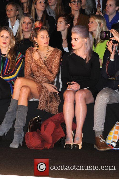 Kelly Osbourne Mercedes-Benz Fashion Week - Fall 2012...