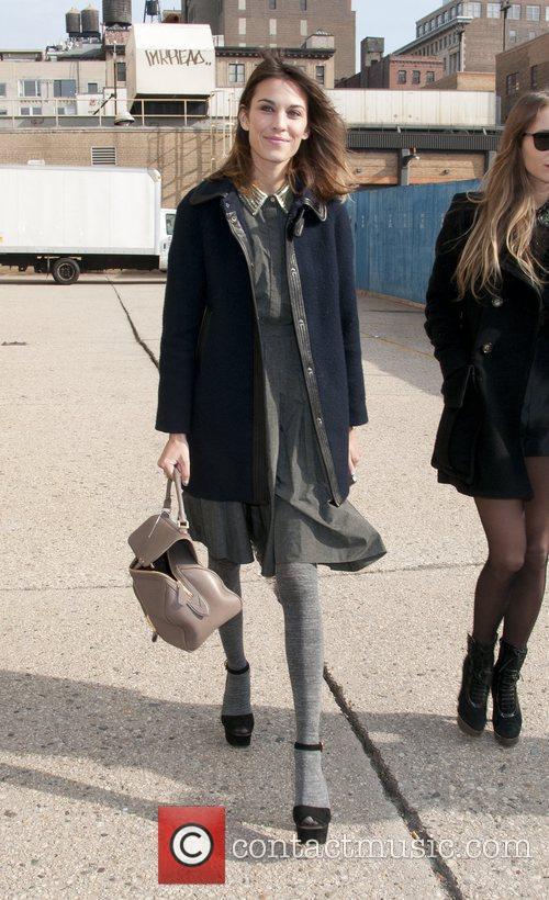 Alexa Chung Mercedes-Benz Fashion Week Berlin Autumn/Winter 2012...