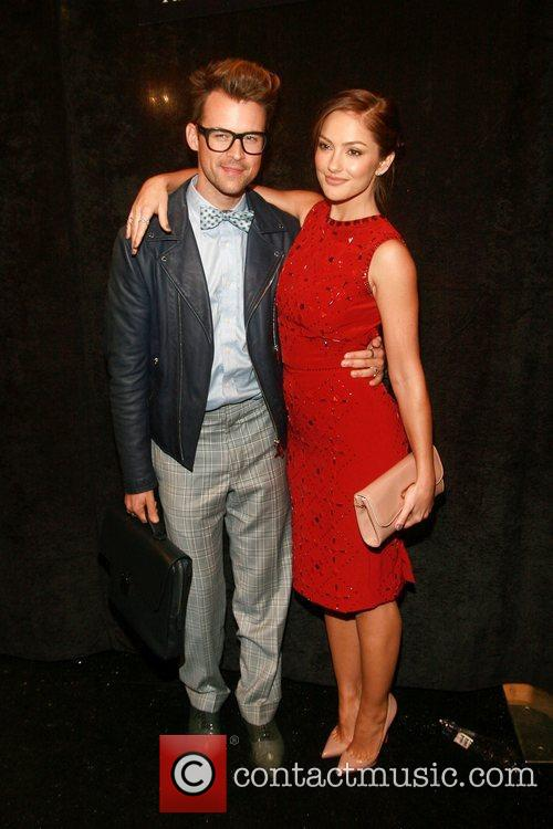 Brad Goreski and Minka Kelly Mercedes-Benz New York...