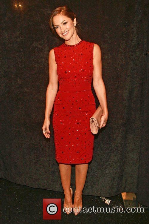 Minka Kelly  Mercedes-Benz New York Fashion Week...