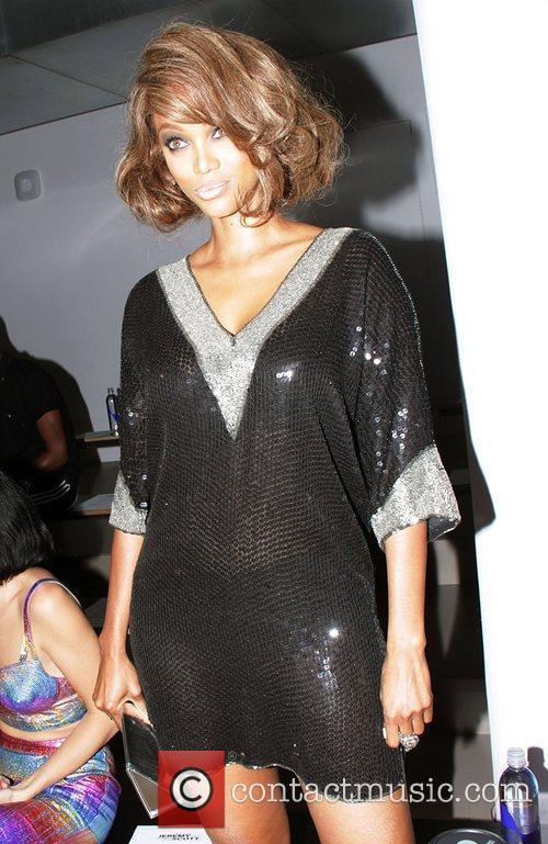 Tyra Banks and New York Fashion Week 1