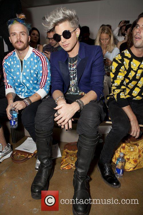 At the Mercedes-Benz New York Fashion Week Spring/Summer...