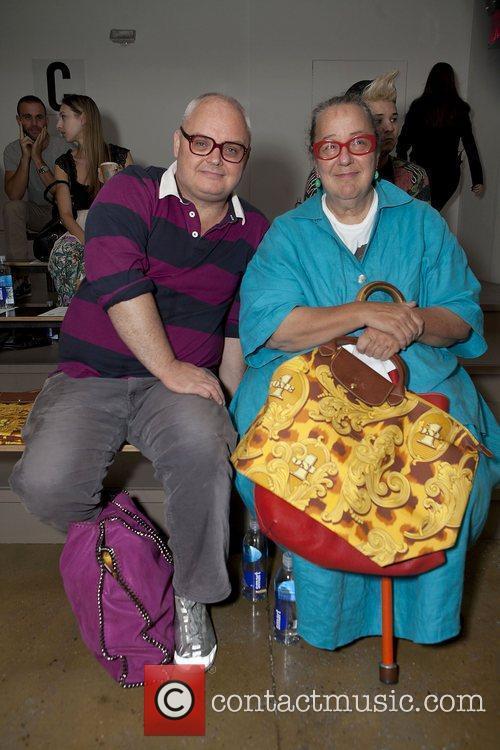 Mickey Boardman, Kim Hastreiter and New York Fashion Week