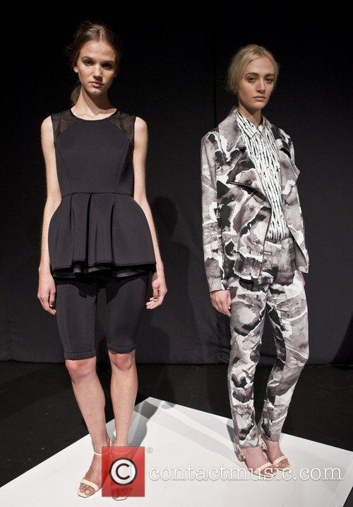 Mercedes-Benz Fashion Week Spring 2013 - Kaelen -...
