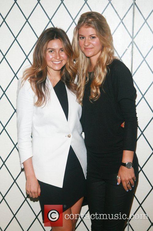 Amanda Greeley and Lauren Smyczek Mercedes-Benz New York...