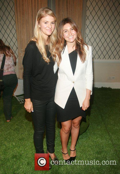 Lauren Smyczek and Amanda Greeley Mercedes-Benz New York...
