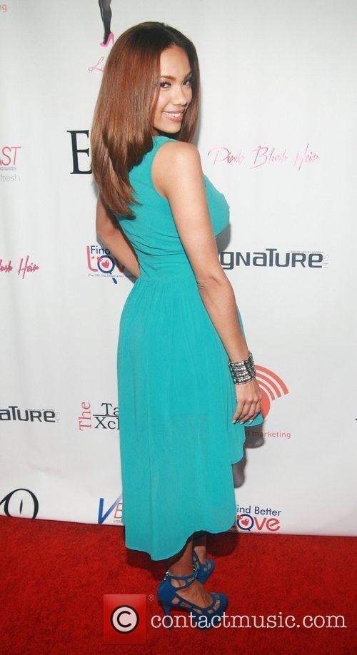 Erica Mena  attending the 'Licious Apparel By...