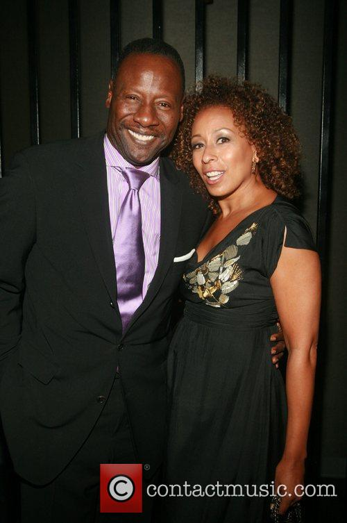 Gregory Generet and Tamara Tunie  attending the...
