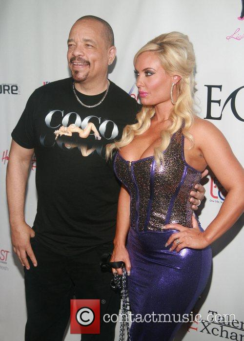 Ice-T and Coco  attending the 'Licious Apparel...