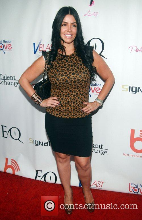 Ramona Rizzo of Mob Wives attending the 'Licious...