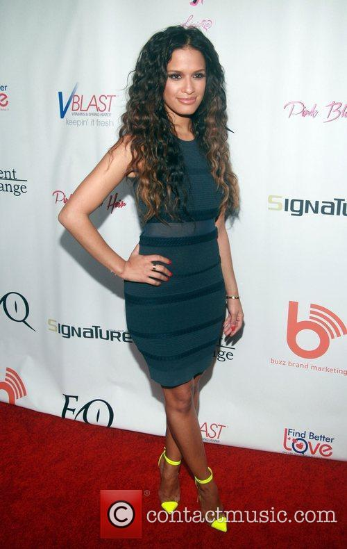 Rocsi Diaz attending the 'Licious Apparel By Coco'...
