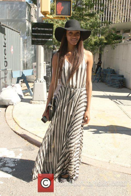 Jourdan Dunn Mercedes-Benz New York Fashion Week Spring/Summer...