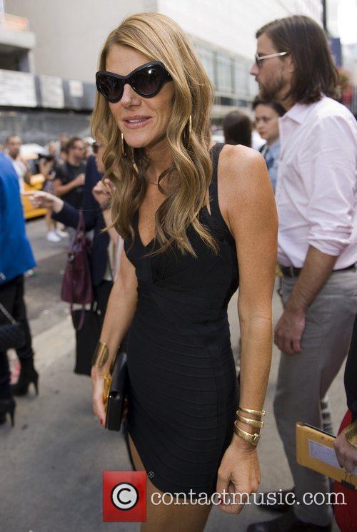 Anna Dello Russo Mercedes-Benz New York Fashion Week...
