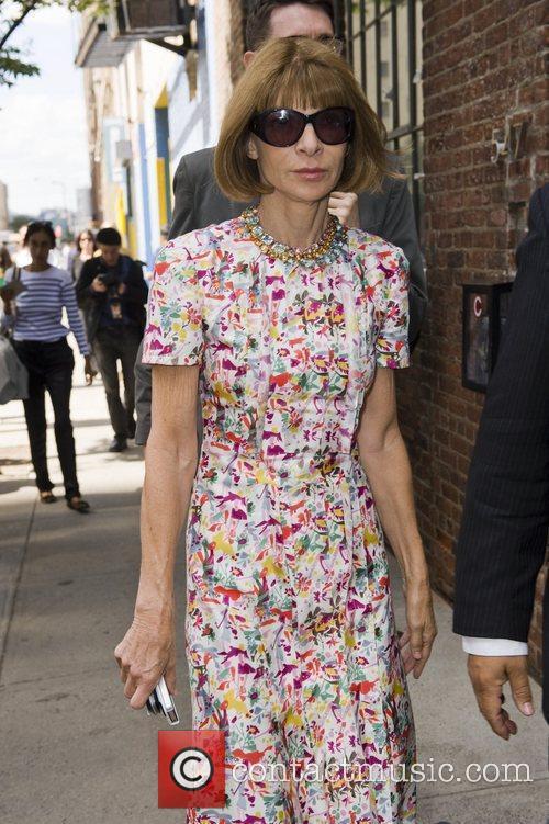 Anna Wintour Mercedes-Benz New York Fashion Week Spring/Summer...