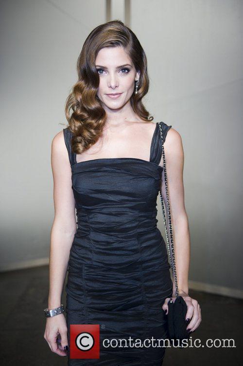Ashley Greene  Mercedes-Benz New York Fashion Week...