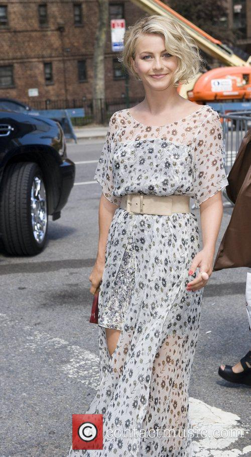 Julianna Hough Mercedes-Benz New York Fashion Week Spring/Summer...