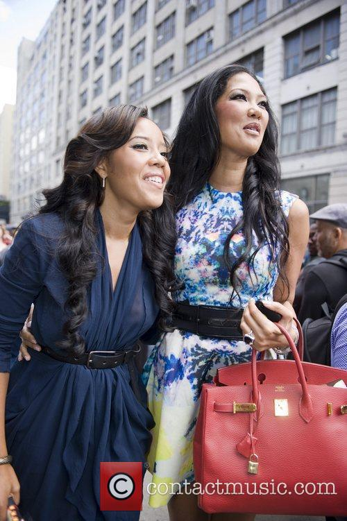 Kimora Lee Simmons, Angela Simmons and New York Fashion Week 2