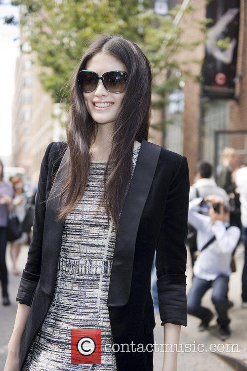 Sui He Mercedes-Benz New York Fashion Week Spring/Summer...